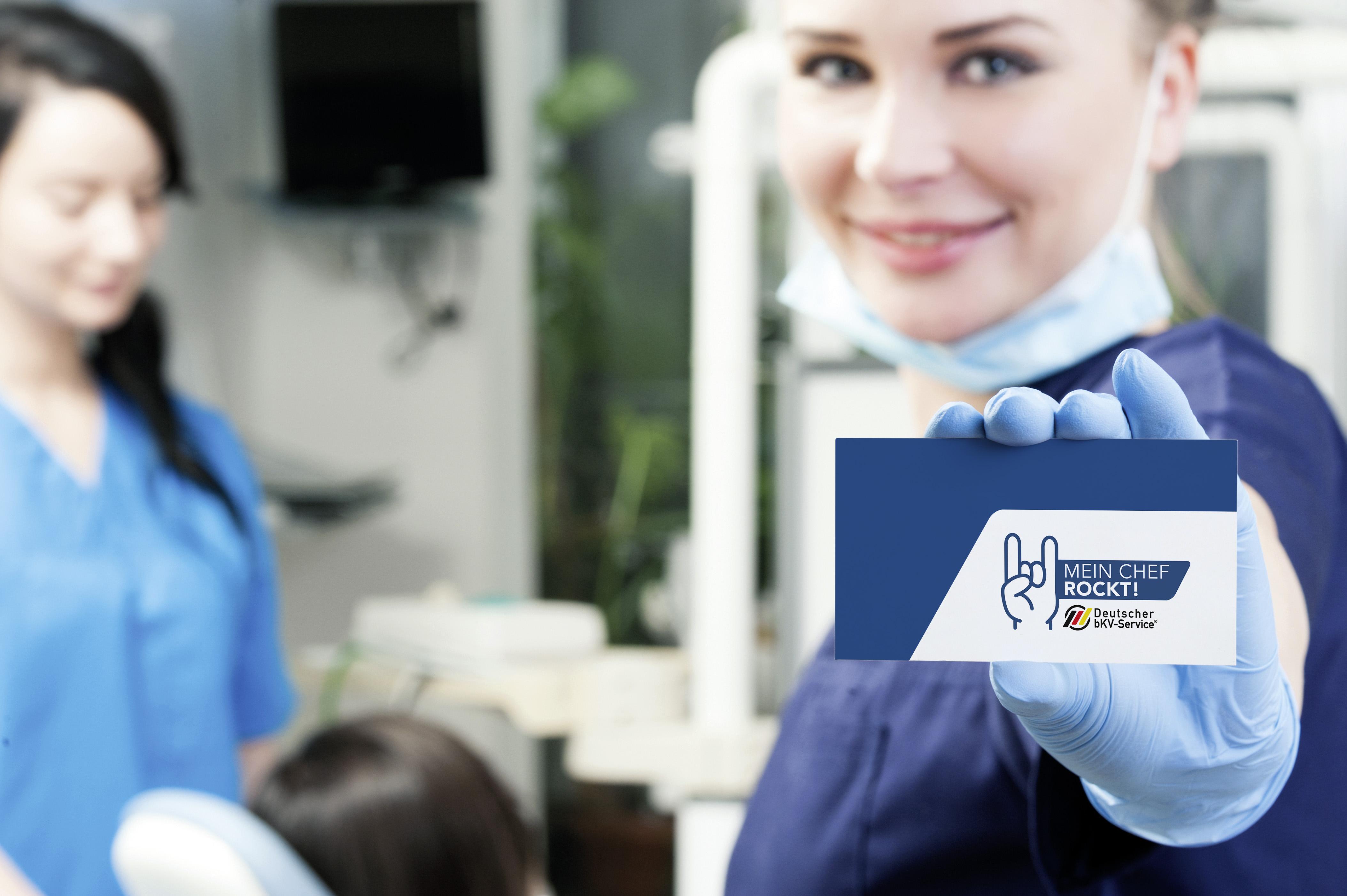 betriebliche krankenversicherung für das Paxisteam vom Chef
